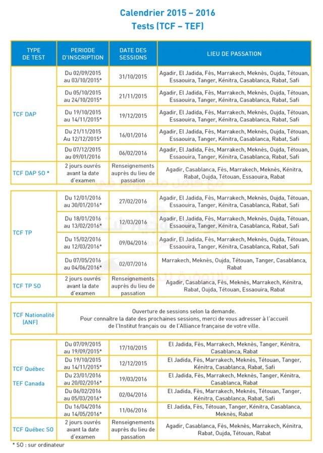 TCF-DELF-DALF-dates-des-tests-site-tawjihnet-2015-2016