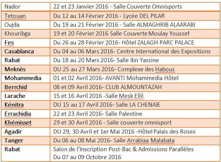 COPEM-orientation-carrefour-Calendrier-des-salons-2016