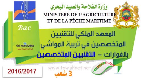 IRTSE Fouarat Institut Agricole