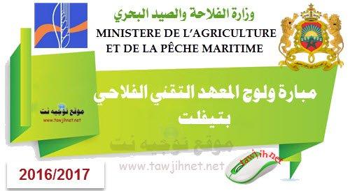 Institut des Techniciens en Agriculture tiflet