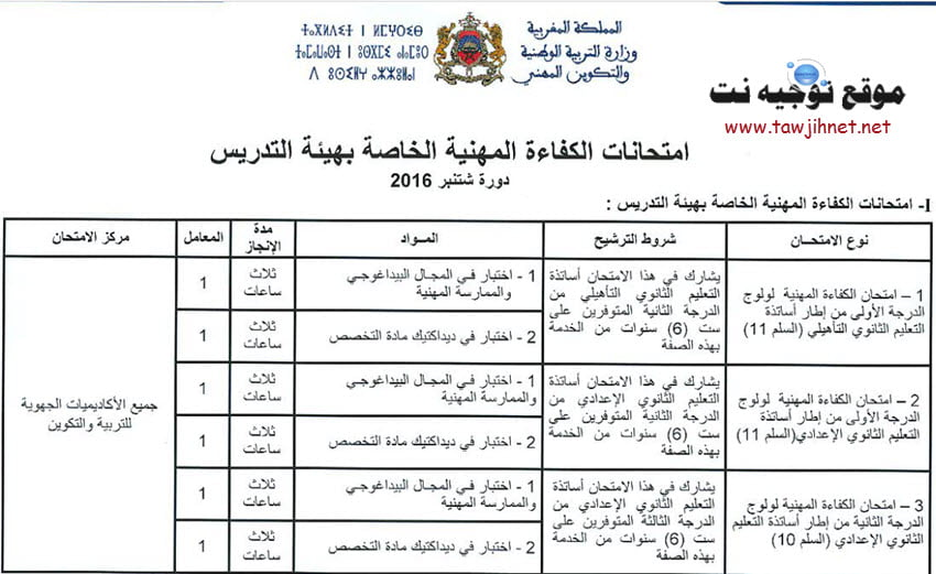 examen-prof-2016