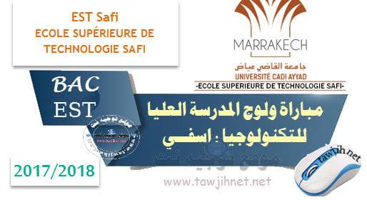 Résultats de Selection DUT Safi Listes septembre 2017