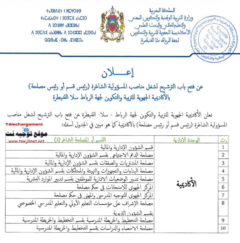 AREF-Rabat-Kenitra