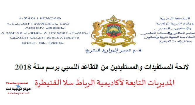 retraite-AREF-Rabar-Sale-Kenitra