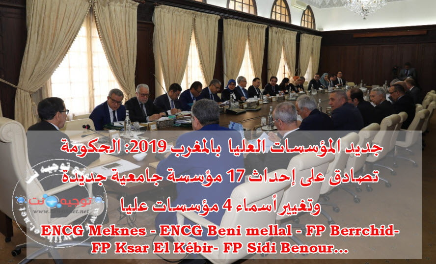 etablissement-Maroc-2019-ENCG-Meknes-ENCG-beni-mellal-FP-Berrchid-FP-Ksar-El-K%C3%A9bir-FP-Sidi-Benour