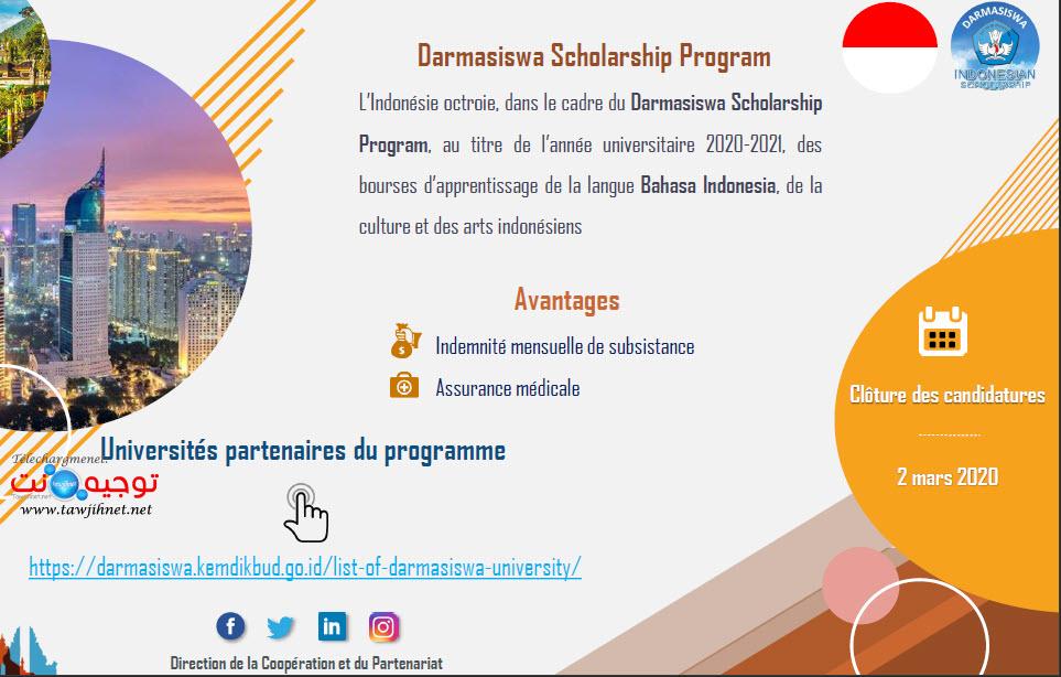 indonesie Bahasa Indonesia Darmasiswa Scholarship 2021.jpg