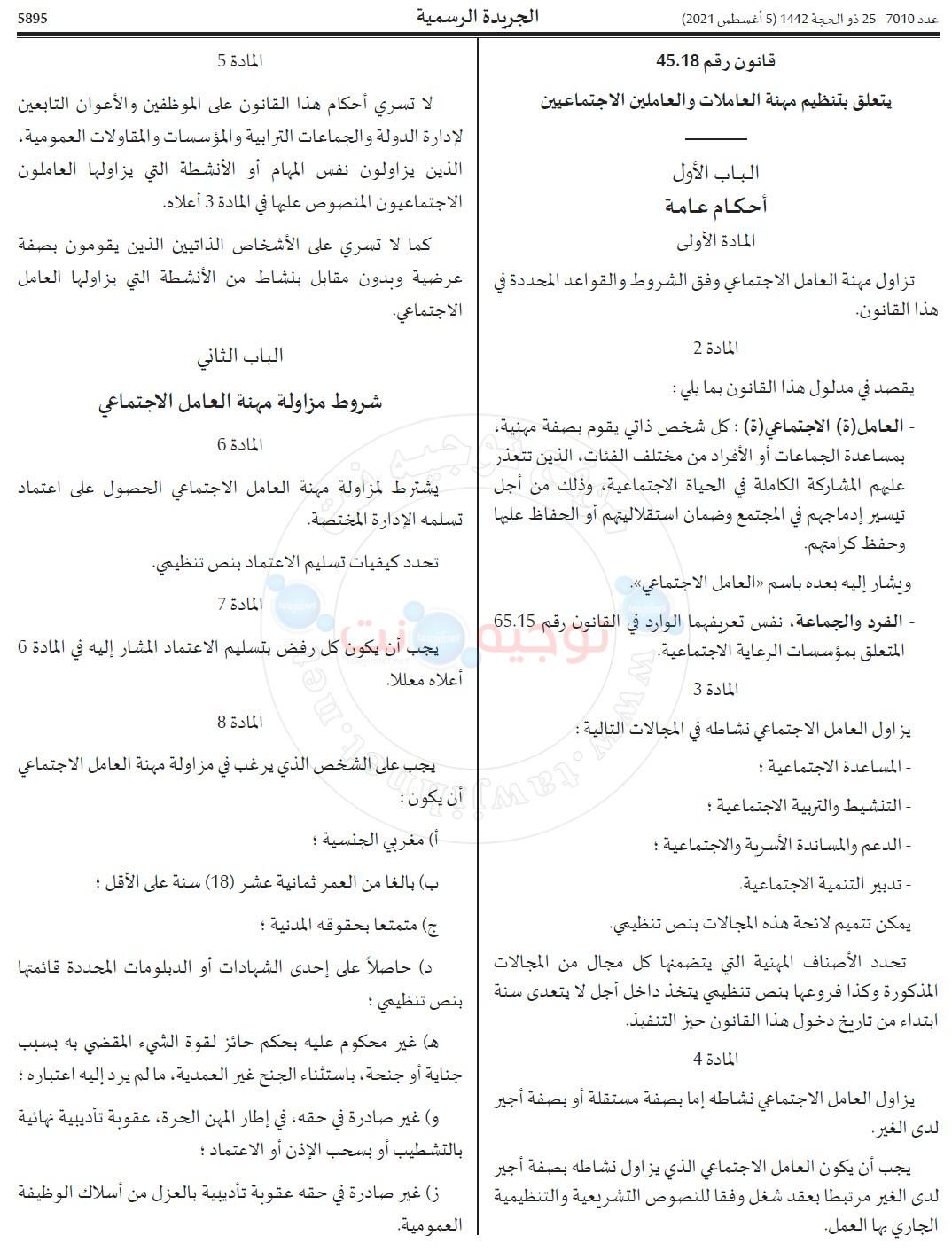 profession assisatnt social maroc  arret 2021_Page_1.jpg
